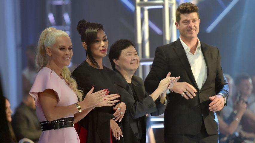Jenny McCarthy, Nicole Scherzinger, Ken Jeong und Robin Thicke