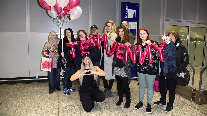 Jennifer Frankhauser mit ihren Fans