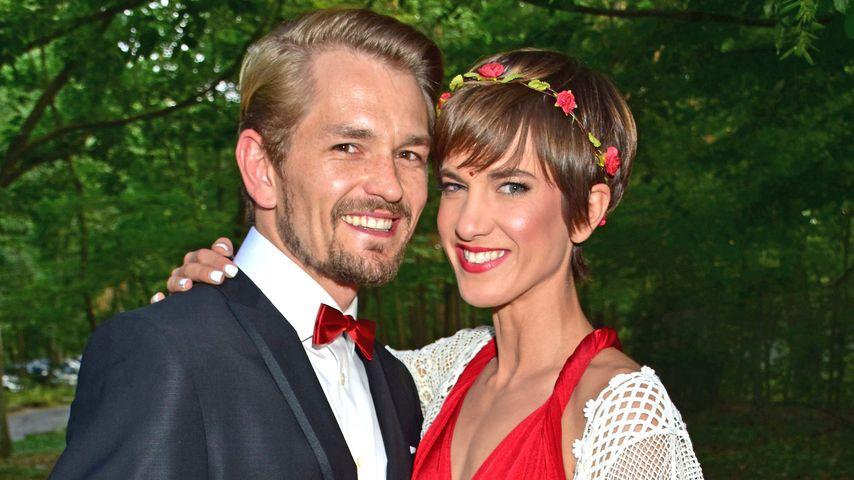 Jens Ackermann und Isabell Horn bei der Hochzeit von Sila Sahin