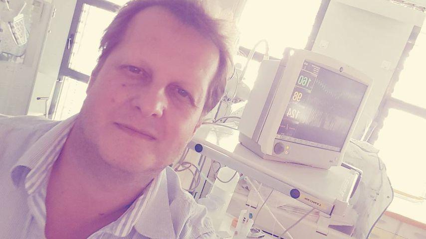 Jens Büchner im Krankenhaus