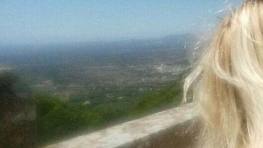 Auf Wolke sieben: Jens Büchner liebt diese Blondine
