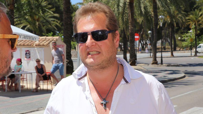 Jens Büchner auf Mallorca