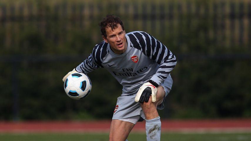 Jens Lehmannim Jahr 2011 im Dress von Arsenal London