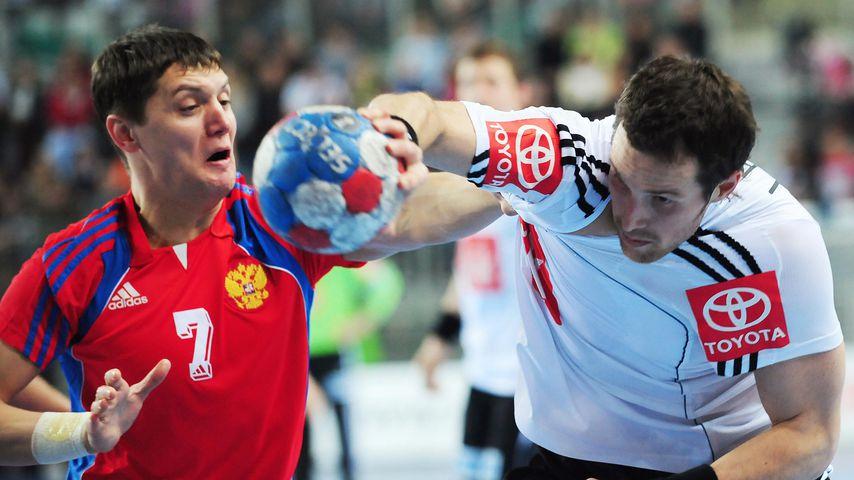 Jens Tiedtke bei einem Handballspiel in Varazdin