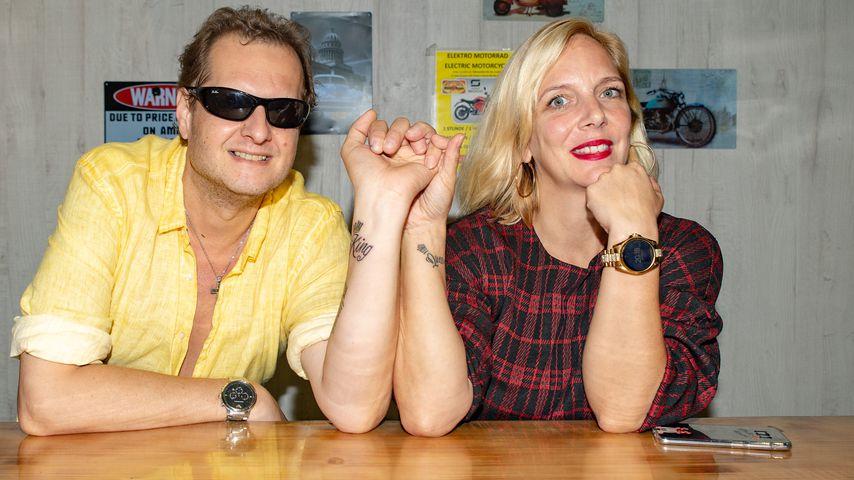 Jens und Daniela Büchner im Wurst Haus in Palma