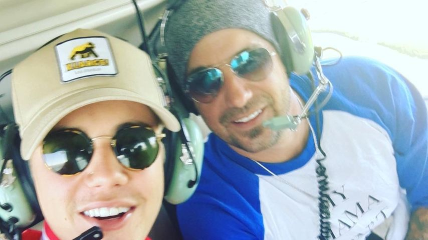 Justin (l.) und Jeremy Bieber