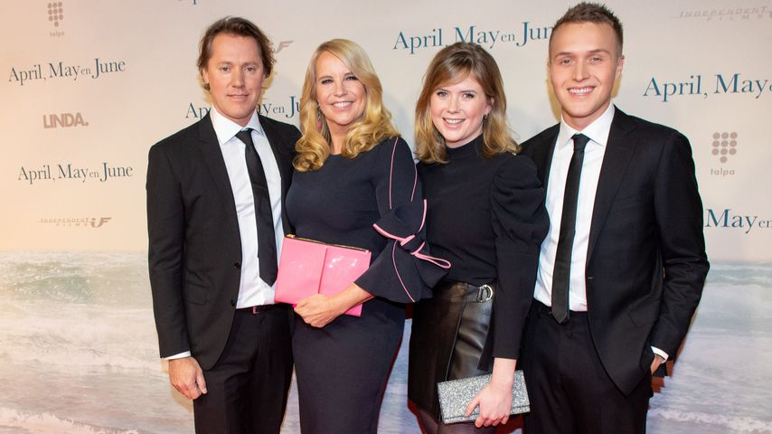 Hier zeigt Kult-Moderatorin Linda de Mol ihre ganze Familie