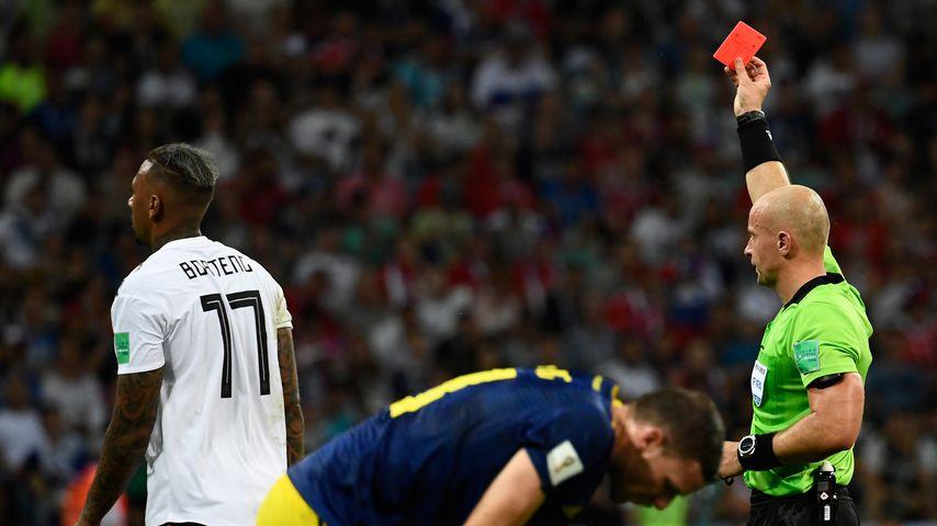 Jérôme Boateng beim WM-Spiel Deutschland gegen Schweden in Sotschi