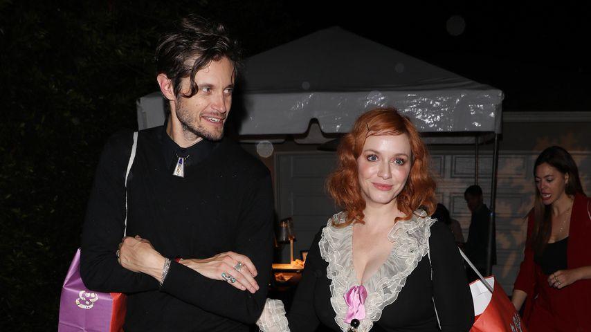 Jesse Hoy und Christina Hendricks in Los Angeles
