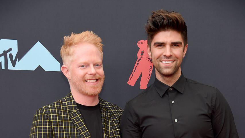 Jesse Tyler Ferguson und Justin Mikita bei den MTV Video Music Awards