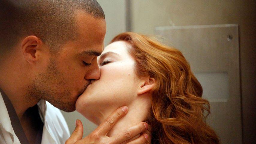Jesse Williams und Sarah Drew bei Grey's Anatomy