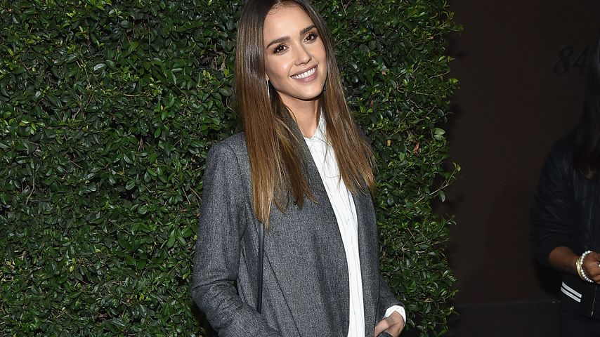 Schauspielerin Jessica Alba in Los Angeles, 2016
