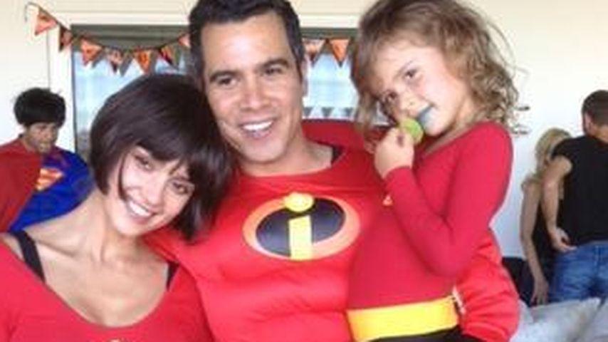 Jessica Alba zeigt ihren Halloween-Familien-Look