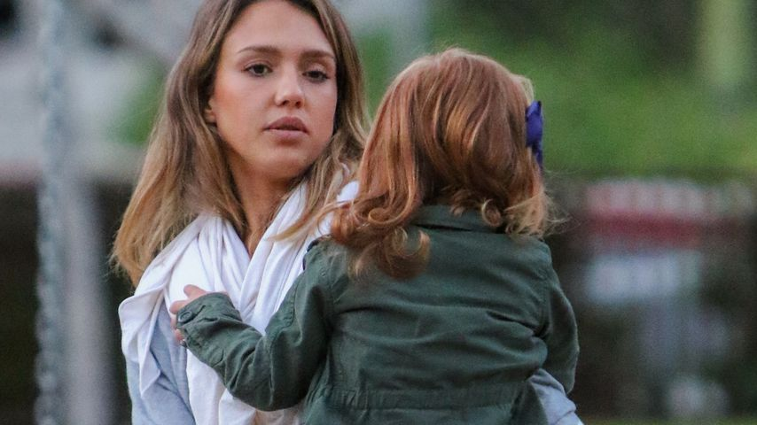 Jessica Alba und Haven Garner Warren