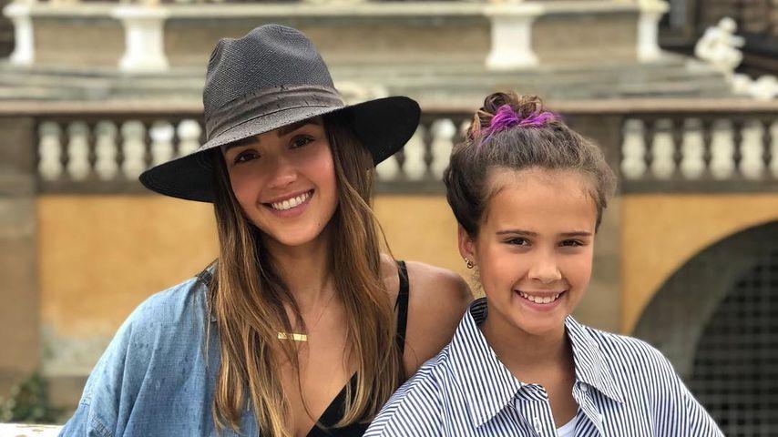 Jessica Alba und ihre Tochter Honor