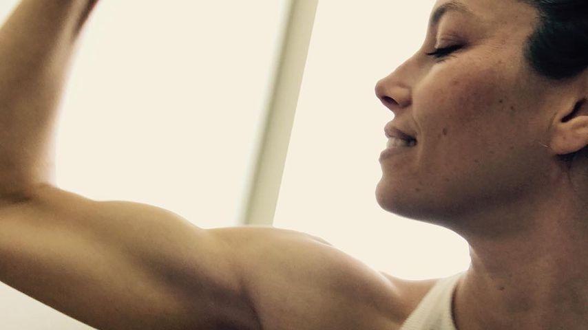 Stark, stärker, Jessica Biel: Was sind denn das für Muckis?