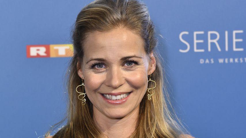 """Jessica Ginkel beim """"RTL-Serienreif!""""-Pressegespräch 2017"""