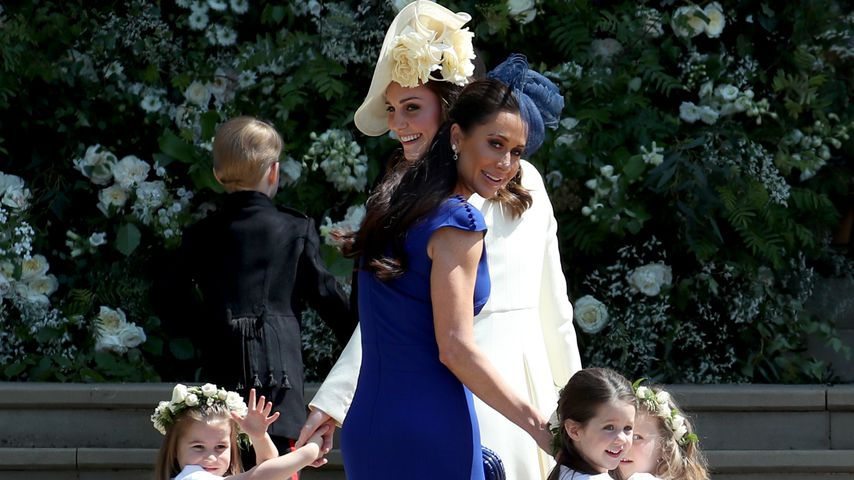 Jessica Mulroney, Herzogin Kate und die Blumenkinder bei der royalen Hochzeit