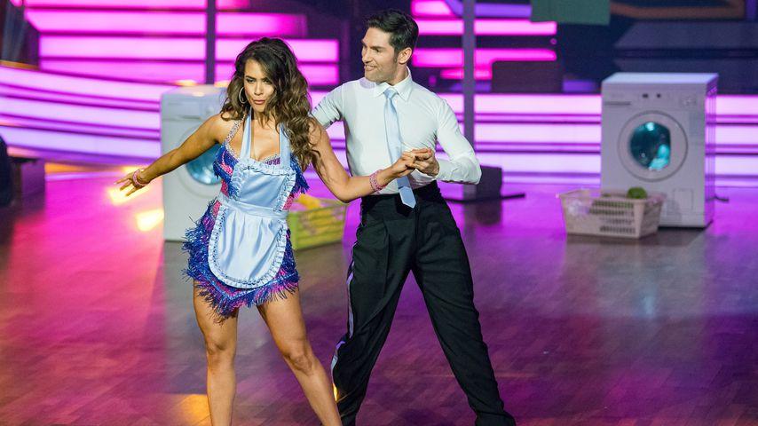 """Jessica Paszka und Christian Polanc in der Kennenlernshow von """"Let's Dance"""""""