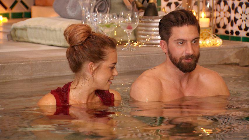 """Jessica Paszka und Sebastian in der vierten Folge von """"Die Bachelorette"""" 2017"""