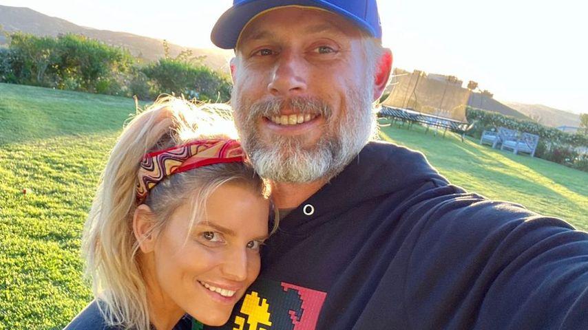 Zum Hochzeitstag: Eric widmet Jessica Simpson süße Worte