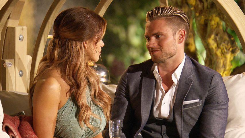 """Jessica Paszka und Johannes Haller in der dritten Nacht der Rosen, """"Die Bachelorette"""""""