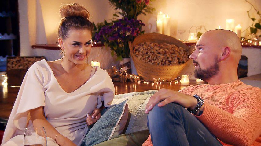 """Jessica Paszka und Kandidat Niklas Schröder bei """"Die Bachelorette"""" 2017"""