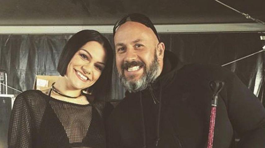 Jessie J und ihr mittlerweile verstorbener Bodyguard Dave