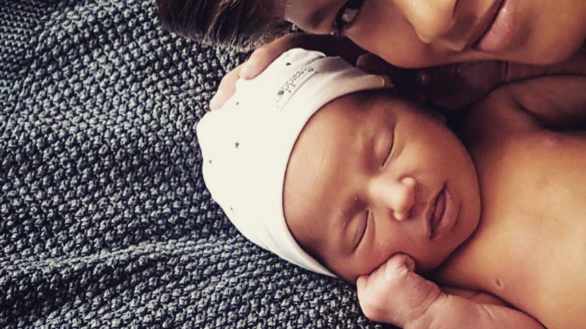 1. Baby-Foto! So süß ist Estavanas & Rafaels kleine Jesslynn