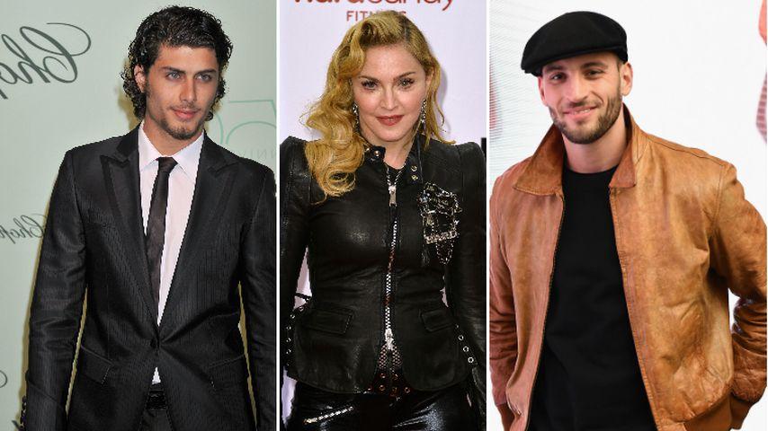 Mit diesen Toyboys flirtete Madonna vor ihrem Tänzer (25)!