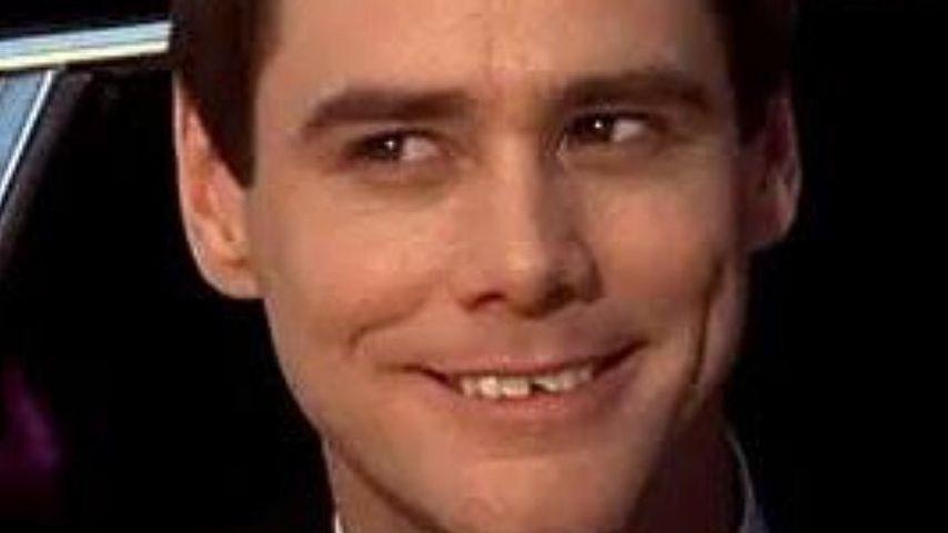 Jim Carrey mit abgebrochenem Zahn