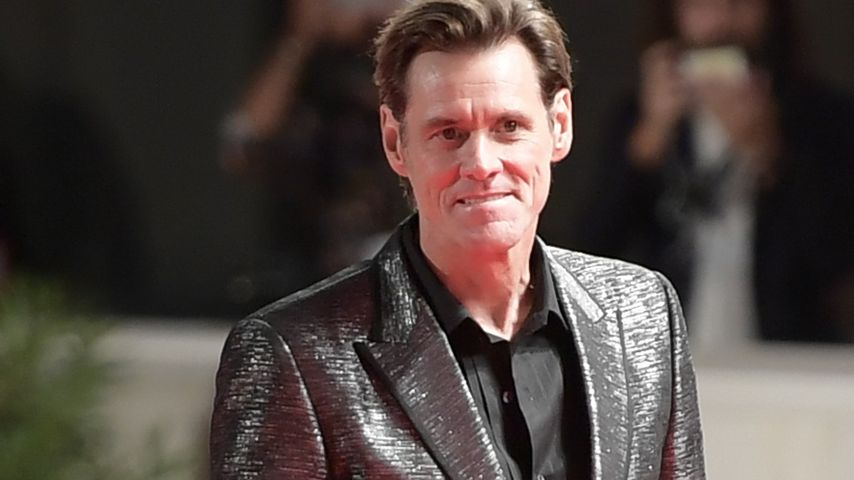 Jim Carrey beim Venice Film Festival
