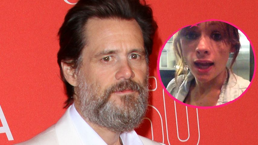 Jim Carrey und Cathriona White