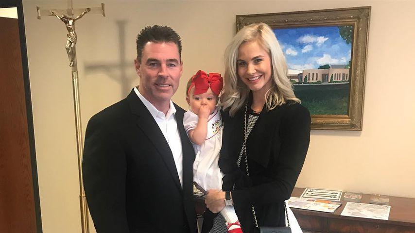 Jim Edmonds, Meghan King Edmonds und ihre Tochter Aspen