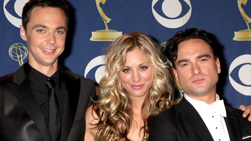 Jim Parsons, Kaley Cuoco, und Johnny Galecki