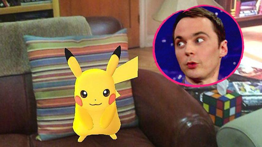 """TBBT-Sheldon außer sich: """"Das ist mein Platz, Pikachu!"""""""