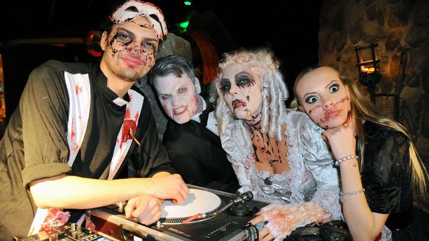 Schaurige Promi-Parade: Halloween bei den Ochsenknechts