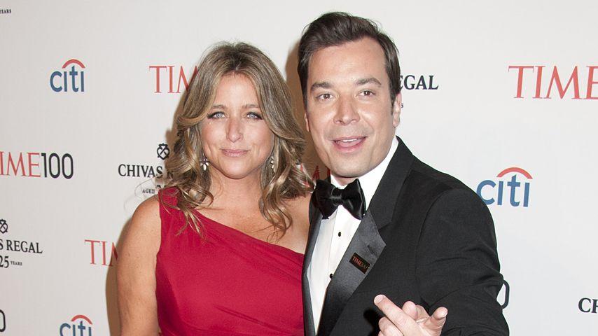 Jimmy Fallon mit Nancy Juvonen bei einer Gala im Jahr 2013 in New York