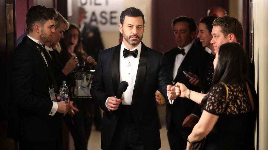 Jimmy Kimmel im Backstage von der Academy Award Show