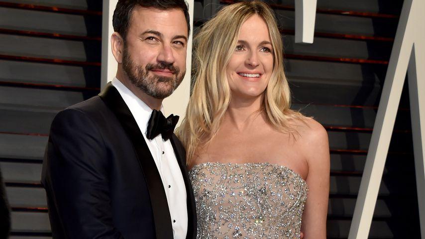 Jimmy Kimmel und seine Frau Molly McNearney
