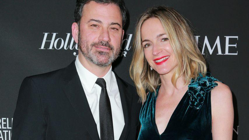 Jimmy Kimmel mit seiner Frau Molly