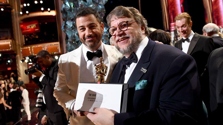 Jimmy Kimmel und Guillermo del Toro