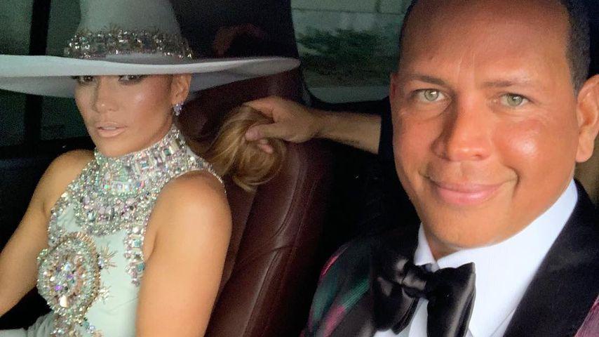 Jennifer Lopez und ihr Verlobter Alex Rodriguez