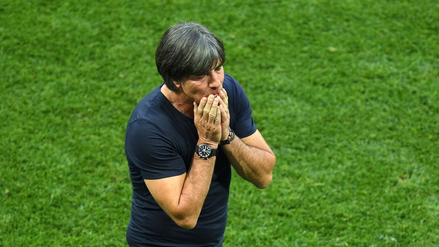 Joachim Löw beim WM-Spiel gegen Mexiko