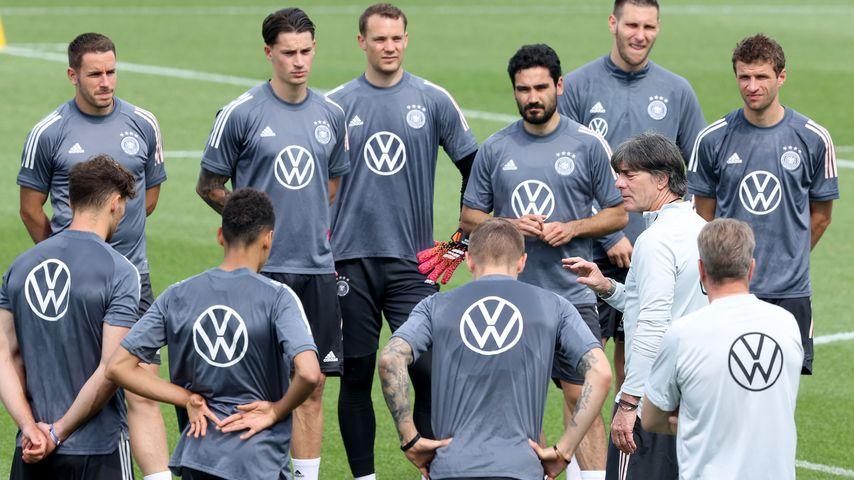 Joachim Löw mit dem DFB-Team, Juni 2021