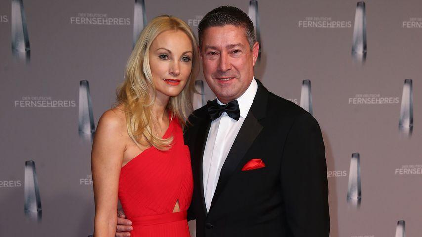 Ilona und Joachim Llambi beim Deutschen Fernsehpreis 2016