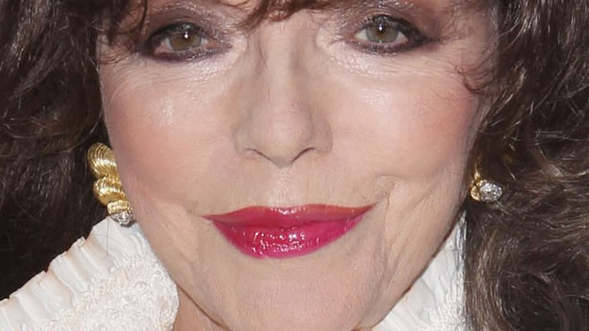 Krass! Joan Collins heiratete ihren Vergewaltiger