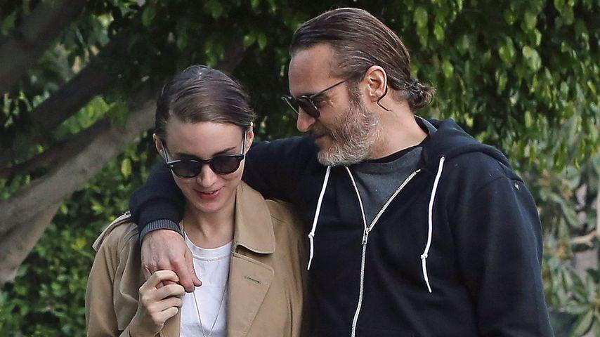 Rooney Mara und Joaquin Phoenix, Schauspieler