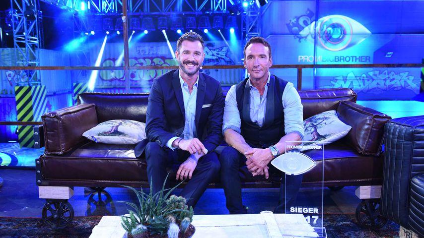 """Das """"Promi Big Brother""""-Moderatoren-Duo Jochen Schropp und Jochen Bendel"""