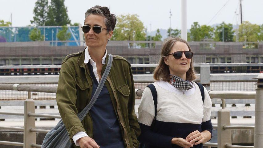 Jodie Foster und ihre Frau Alexandra Hedison, Mai 2021
